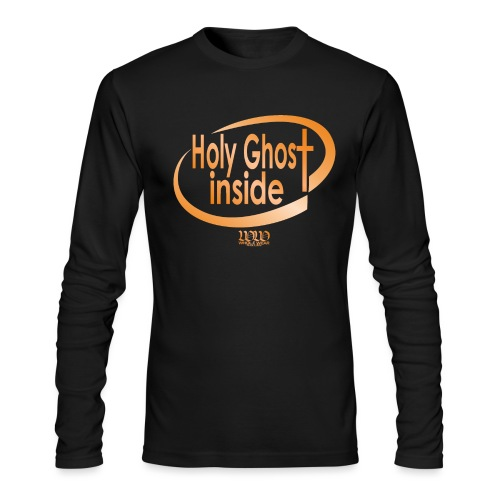 ***12% Rebate - See details!*** Holy Ghost Inside - Men's Long Sleeve T-Shirt by Next Level
