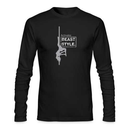 Activate: Beast Style - Men's Long Sleeve T-Shirt by Next Level