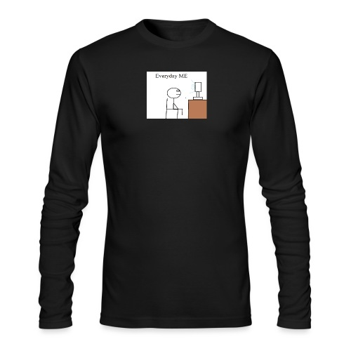Everyday ME - Men's Long Sleeve T-Shirt by Next Level