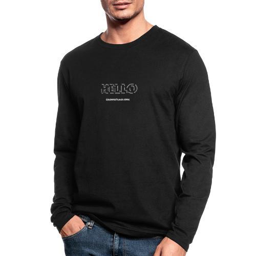 HelloInHellos - Men's Long Sleeve T-Shirt by Next Level