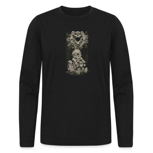 ATV Skully Skull Tree - Men's Long Sleeve T-Shirt by Next Level