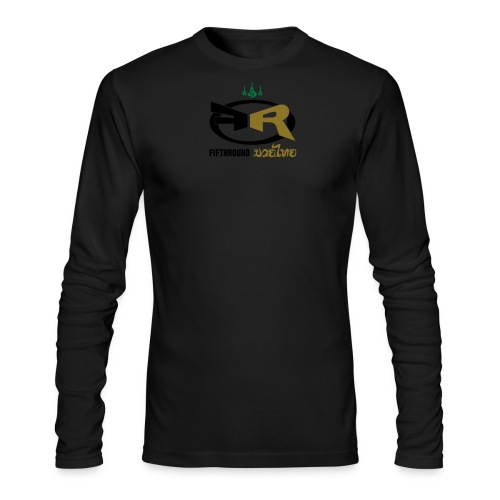 82019 fifth round logo 02 - Men's Long Sleeve T-Shirt by Next Level