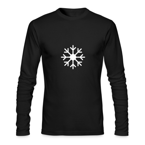 snowflake - Men's Long Sleeve T-Shirt by Next Level