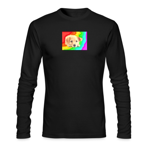 Puppy face - Men's Long Sleeve T-Shirt by Next Level