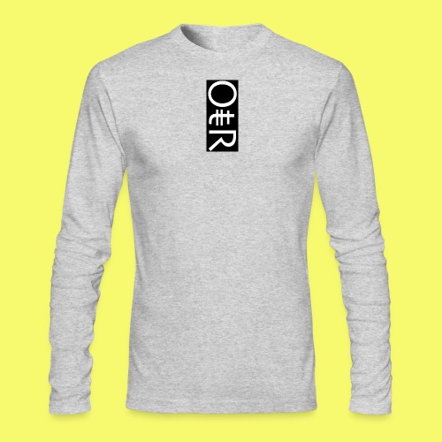 OntheReal coal - Men's Long Sleeve T-Shirt by Next Level