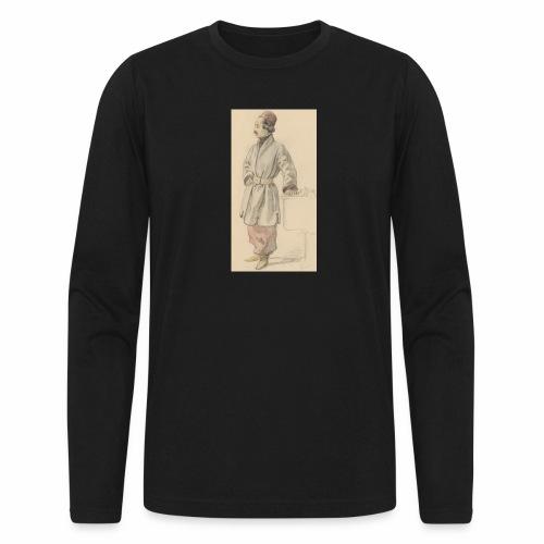 rs portrait sp 01 - Men's Long Sleeve T-Shirt by Next Level