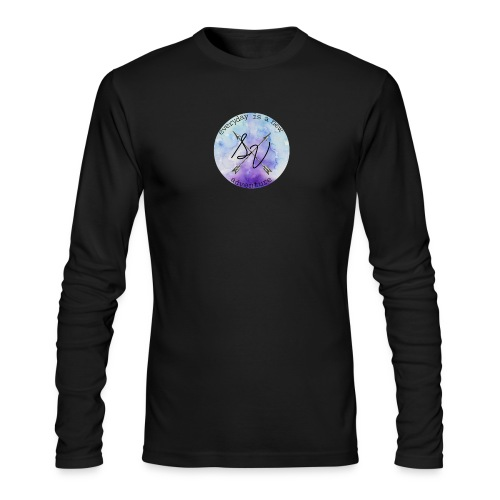 everyday is a new adventure logo - Men's Long Sleeve T-Shirt by Next Level