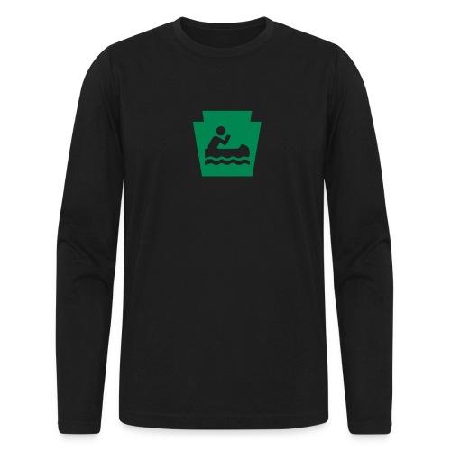 Pennsylvania Keystone Boater PA - Men's Long Sleeve T-Shirt by Next Level
