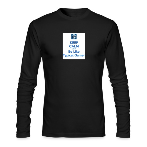 keep calm and be like typical gamer - Men's Long Sleeve T-Shirt by Next Level