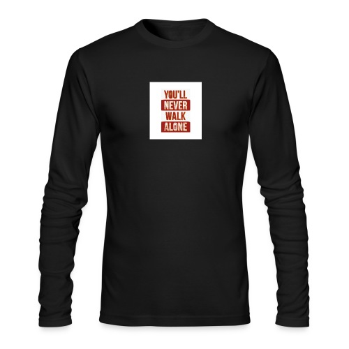liverpool fc ynwa - Men's Long Sleeve T-Shirt by Next Level