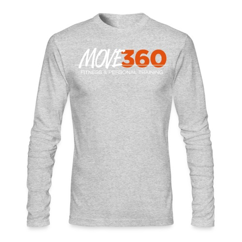 Move360 Logo LightGrey - Men's Long Sleeve T-Shirt by Next Level