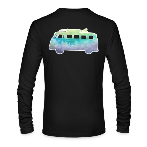 Surfers Kombi Van - Men's Long Sleeve T-Shirt by Next Level