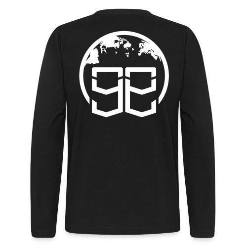 Global Goons White original - Men's Long Sleeve T-Shirt by Next Level