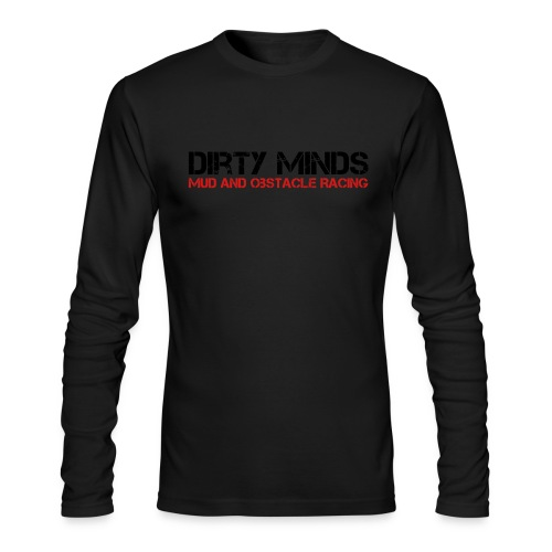 Dirty Minds Obstacle Racing Logo - Men's Long Sleeve T-Shirt by Next Level