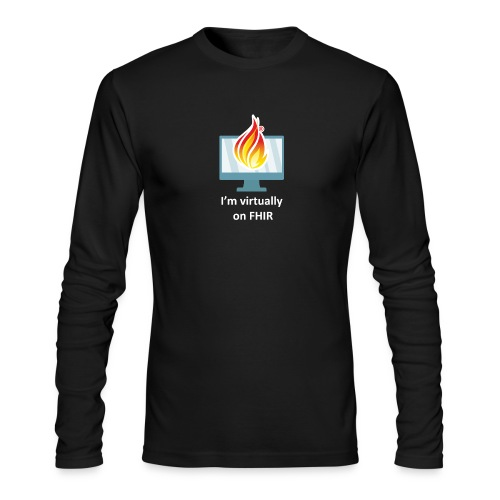 HL7 FHIR DevDays 2020 - Desktop - Men's Long Sleeve T-Shirt by Next Level