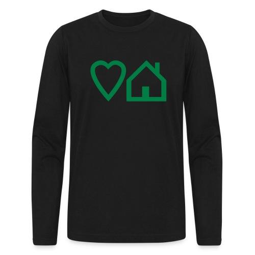 ts-3-love-house-music - Men's Long Sleeve T-Shirt by Next Level