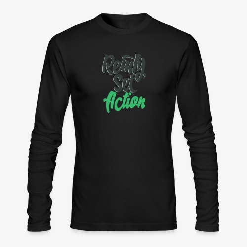 Ready.Set.Action! - Men's Long Sleeve T-Shirt by Next Level