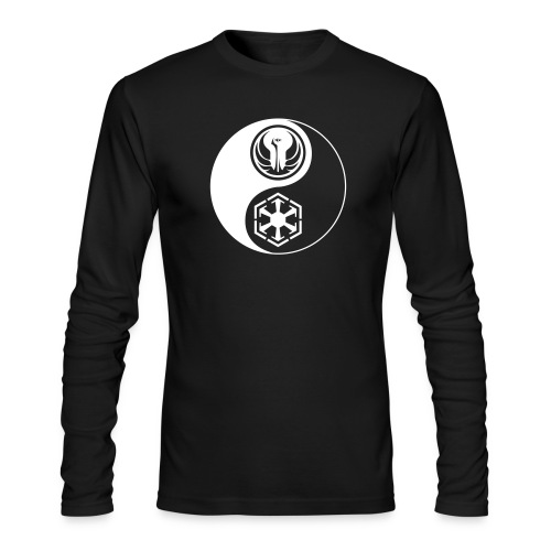Star Wars SWTOR Yin Yang 1-Color Light - Men's Long Sleeve T-Shirt by Next Level