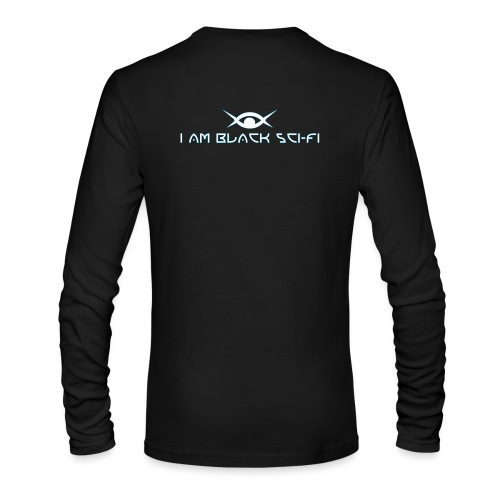 IAMBSF Logo and Text png - Men's Long Sleeve T-Shirt by Next Level