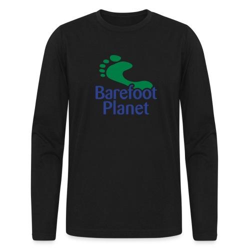 I Run Better, I Run Barefoot Women's T-Shirts - Men's Long Sleeve T-Shirt by Next Level