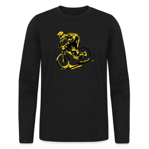 DH Freak - Mountain Bike Hoodie - Men's Long Sleeve T-Shirt by Next Level