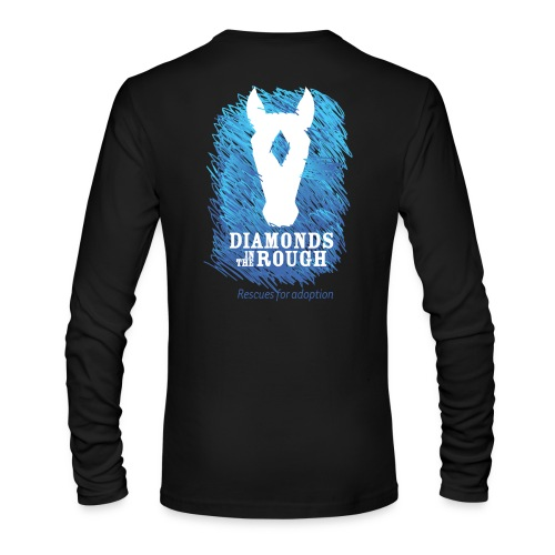 Diamonds in the Rough PNG - Men's Long Sleeve T-Shirt by Next Level