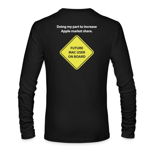 macuseronboard - Men's Long Sleeve T-Shirt by Next Level
