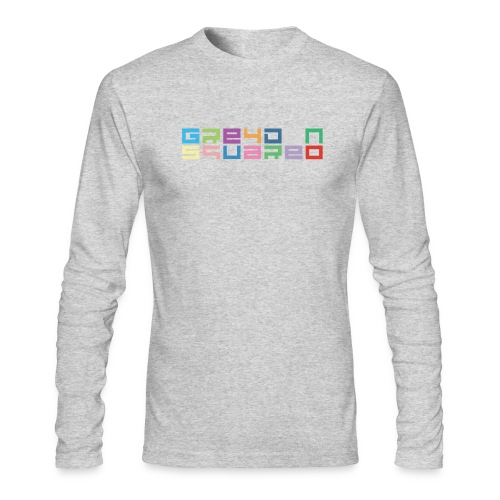 Greydon Square Colorful Tshirt Type 3 - Men's Long Sleeve T-Shirt by Next Level