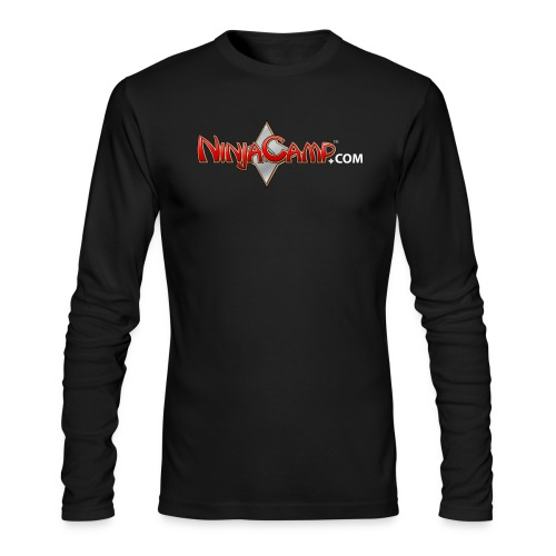 NC Logo for Dark Products - Men's Long Sleeve T-Shirt by Next Level