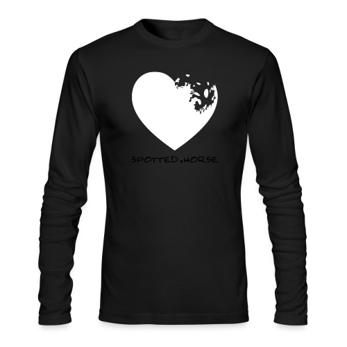 Appaloosa Heart - Men's Long Sleeve T-Shirt by Next Level