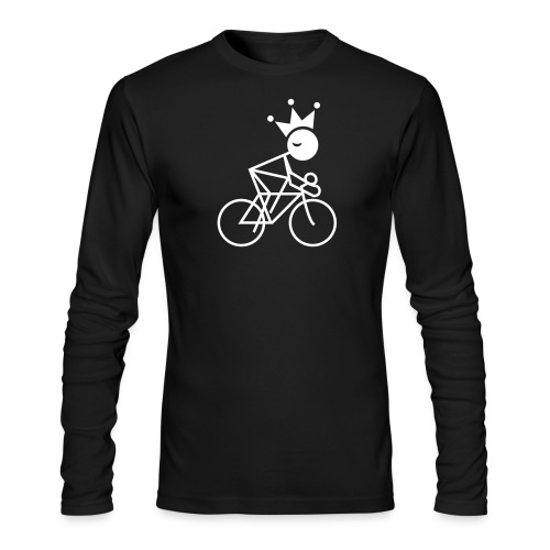 Winky Cycling King - Men's Long Sleeve T-Shirt by Next Level