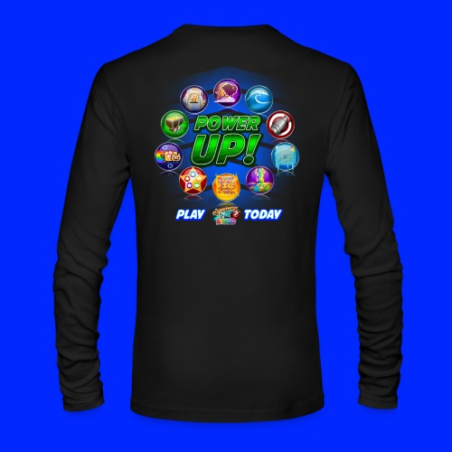 Vintage Cannonball Bingo Power-Up Tee - Men's Long Sleeve T-Shirt by Next Level
