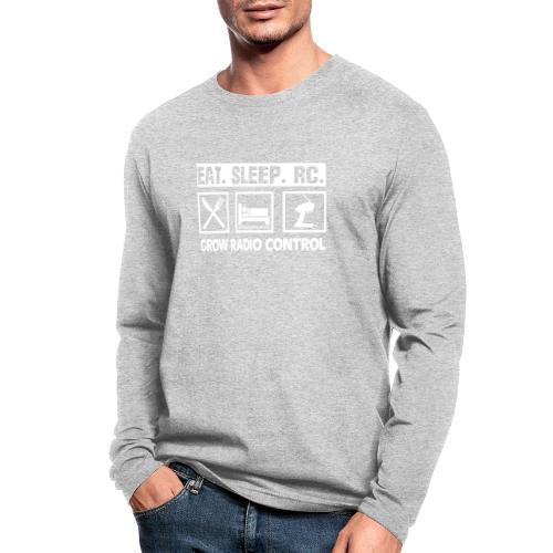 Eat Sleep RC - Grow Radio Control - Men's Long Sleeve T-Shirt by Next Level