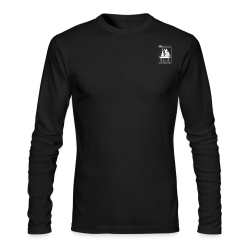 SEA_smaller_logo.png - Men's Long Sleeve T-Shirt by Next Level