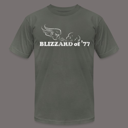 Blizzard of 77 - Unisex Jersey T-Shirt by Bella + Canvas