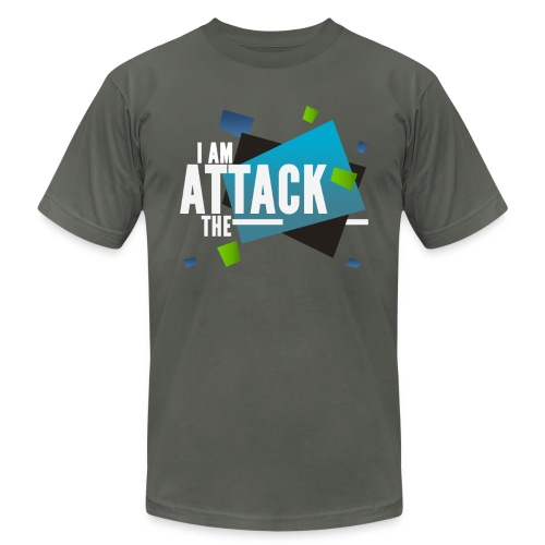 attack flare - Unisex Jersey T-Shirt by Bella + Canvas