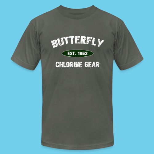 butterfly est 1952 - Unisex Jersey T-Shirt by Bella + Canvas