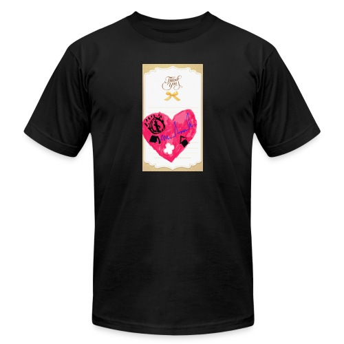 Heart of Economy 1 - Unisex Jersey T-Shirt by Bella + Canvas