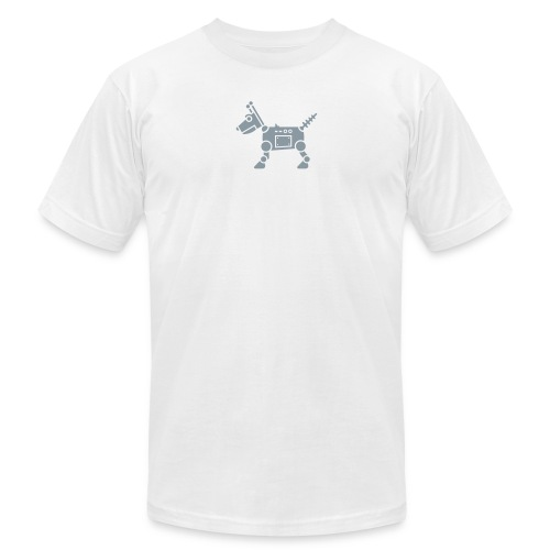robot dog - Unisex Jersey T-Shirt by Bella + Canvas