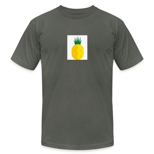 Pixel looking Pineapple - Unisex Jersey T-Shirt by Bella + Canvas