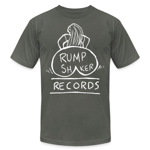 rump shaker records 4000p - Unisex Jersey T-Shirt by Bella + Canvas