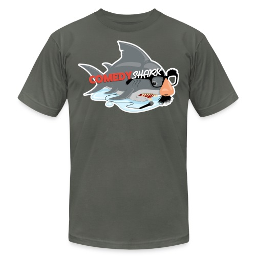 ComedyShark - Unisex Jersey T-Shirt by Bella + Canvas