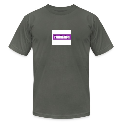 PanNation Box Logo - Unisex Jersey T-Shirt by Bella + Canvas