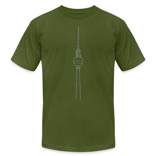 Berlin TV Tower - Unisex Jersey T-Shirt by Bella + Canvas