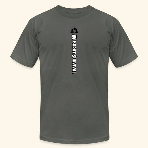 Muskrat Survival Tall - Unisex Jersey T-Shirt by Bella + Canvas