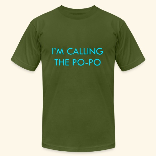 I'M CALLING THE PO-PO | ABBEY HOBBO INSPIRED - Unisex Jersey T-Shirt by Bella + Canvas