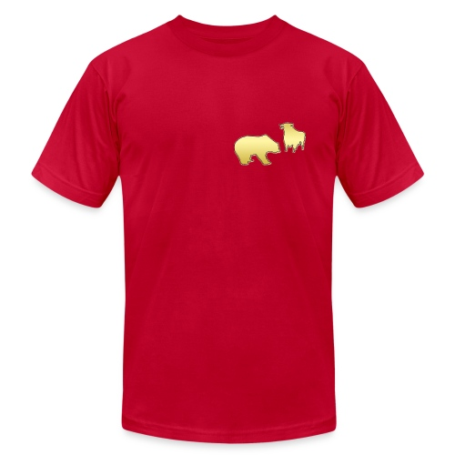 Bull and bear market - Unisex Jersey T-Shirt by Bella + Canvas