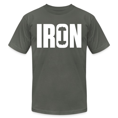 IRON WEIGHTS - Unisex Jersey T-Shirt by Bella + Canvas
