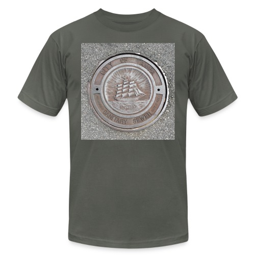 Sewer Tee - Unisex Jersey T-Shirt by Bella + Canvas