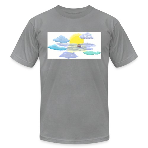 Sea of Clouds - Unisex Jersey T-Shirt by Bella + Canvas